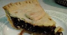 If you are looking for easy dessert pie recipes, this raisin pie filling recipe is an old fashioned ...