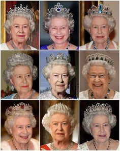 Royal Crowns, Royal Tiaras, Tiaras And Crowns, Queen Elizabeth Ii Crown, Queen Crown, Princess Diana Jewelry, Imperial State Crown, Queens Tiaras, Argent Antique