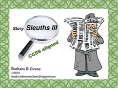 4 more weeks of Story Sleuth fun.    #critical thinking #Caldecott books #CCSS #Gifted #StorySleuths   #higherorderthinkingskills #enrichment #BarbEvans #itsabouttimeteachers