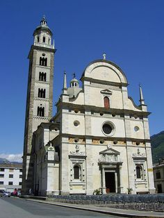 Sanctuary of Our Lady of Tirano, Tirano, Lombardy, Italy