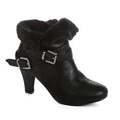 Twisted Women's Hailey Faux Fur Cuffed Ankle Booties- BLACK, Size 6.5 Twisted http://www.amazon.com/dp/B00PWQILCG/ref=cm_sw_r_pi_dp_s88Yub0JAKJWJ
