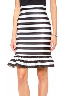 Bella Striped Skirt