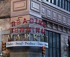 Reading Terminal Market, Philadelphia, PA. best place for lunch if you're at the convention center next door.