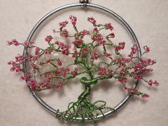 "Check out our site for additional details on ""metal tree sculpture"". It is actually an excellent place to get more information. Tree Of Life Jewelry, Tree Of Life Pendant, Metal Tree Wall Art, Metal Art, Wire Wrapped Jewelry, Wire Jewelry, Wire Earrings, Beaded Jewelry, Jewlery"
