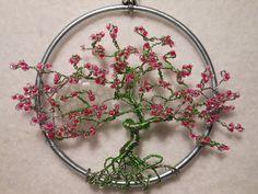 Wire Tree SculptureTreeSun CatcherTree OrnamentTree by OnlyTrees