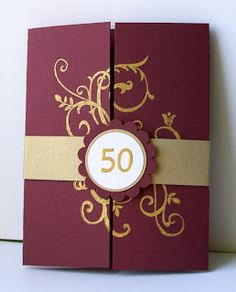 Julies Stamping Spot Stampin Up Project Ideas Posted Daily 50th Anniversary Handmade CardsWedding