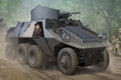 """ADGZ-D ( """" Mittlere """" Panzerwagen , Austrian all - wheel drive heavy armored car ) Author : Vincent Wai Military Memes, Military Weapons, Military Art, Otto Carius, Luftwaffe, Iraqi Army, T 62, Ww2 Pictures, Panzer Iv"""