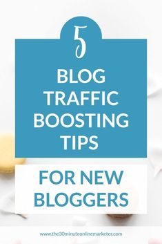 How to increase traffic to your blog or your website. Learn 5 great ways to get more followers on social media, promote your blog and get more visitors to your site. #blogpromotion #bloggingtips #blogtraffic