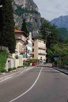 Lake Como - on the road to Menaggio