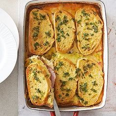 Ham and Cheese Brunch Casserole  From Better Homes and Gardens, ideas and improvement projects for your home and garden plus recipes and entertaining ideas.