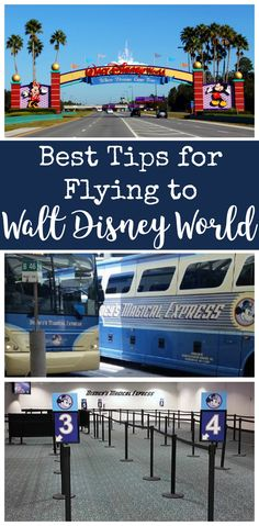 Flying to Disney World is easier than you think! Follow our great tips to ease your travels. Knowing what to expect before flying to Disney World will help you plan for more fun!