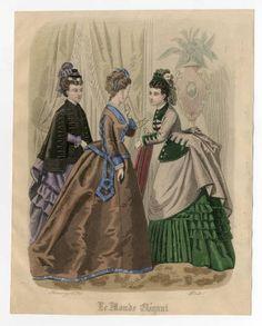 Women 1874, Plate 077 :: Costume Institute Fashion Plates