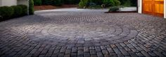 Bergerac Circle Pavers: Circle Kit for Bergerac Circle Hardscapes from Belgard