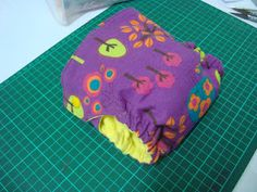 Cloth Diaper - DIY Fitted Tutorial with pattern