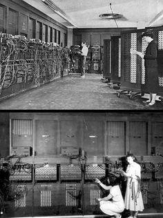 ENIAC, 1946, University of Pennsylvania