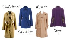 tipos de abrigos | Tipos de abrigos para cada forma de cuerpo... - ImagenNueva.com.mx ...