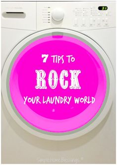 Simple laundry tips