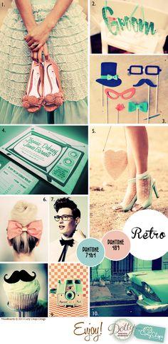 retro and vintage weddings Dottie Vintage Weddings