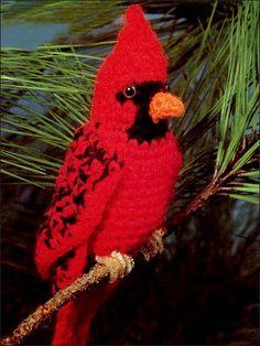 Cardinal free crochet pattern