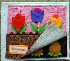 Tiny Miracles Quiet BOOK .PDF pattern for EASTER di LindyJDesign