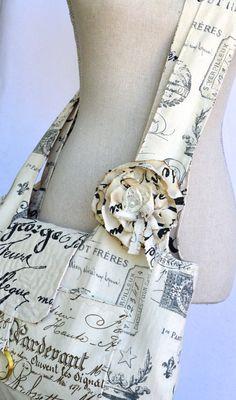 Fabric Hobo Bag Large  Reversible  Boho Bag  by OliviabyDesign, $45.00