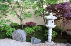 Japanese Garden With Japanese Trees And Shrubs Japanese Plants, Japanese Tree, Japanese Gardens, Zen Garden Design, Trees And Shrubs, Garden Inspiration, Garden Ideas, Permaculture, Beautiful Gardens