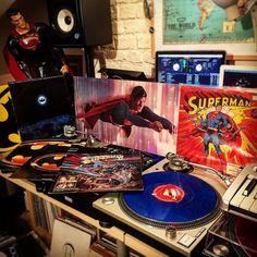 Karl-El The Crate Digger Batman V Superman!  #BatmanVSuperman #DC #comics #vinyl #movies #soundtracks #ost #moviescore #Dj #turntables #Batman #Superman #ManOfSteel #JusticeLeague #DannyElfman #JohnWilliams #studio #decks #Technics #turntablism #custom  #superhero #KaleEl #Krypton #cratedigger #wax #albums #WarnerBrothers #Prince #89 by djshorty79 http://ift.tt/1HNGVsC
