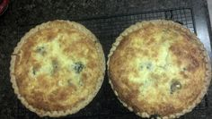 Bacon and mustard greens quiche