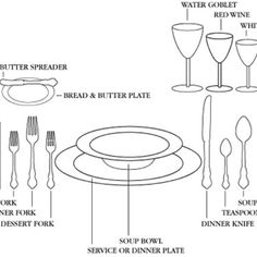 The Etiquette Table Setting For A Casual Gathering