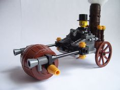 lego steampunk steamroller (side) by retro-dad, via Flickr