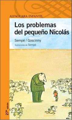 Aniversario de René Goscinny: «Joaquín tiene problemas», de 1964, es el último libro de la serie de Sempé y Goscinny. Se reeditó como «Los problemas del pequeño Nicolás» para vender más ejemplares. («Los Dalton demuestran que no hay un porvenir para los imbéciles. Estemos por lo tanto tranquilos.» René Goscinny.) http://www.veniracuento.com/