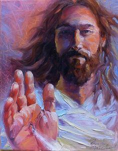 jesus Christ is the son of The living God. Catholic Art, Religious Art, Jesus Tattoo, Pictures Of Jesus Christ, Christian Artwork, Jesus Painting, Bride Of Christ, Prophetic Art, Jesus Art