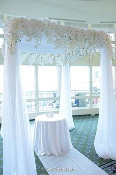 possible chuppah design - all just ideas I'm finding for now.