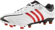 adidas Mens Adipure 11Pro TRX FG Football Boots White/Red/Black £39.99 68% OFF! #FASHION #DEALS #MENSFASHION