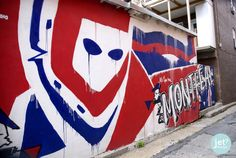 Photos by Noëmie Forget. Of Montreal, Montreal Canadiens, Hockey, Street Art, Mural Painting, Knights, Cave, Empire, Forget