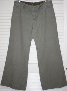GAP Green Pin Stripe Ankle Pants *Free Shipping* $10.00