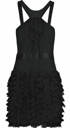 Victoria's Secret Little Black Cocktail Dress | Shoshanna Strapless Cocktail Dress