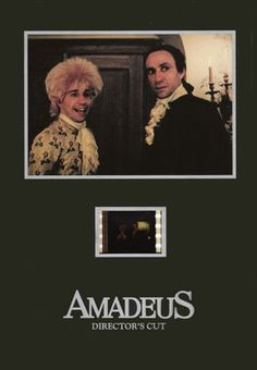 Amadeus 1984 the Ssenitype with Picture X Quality Kramer Vs Kramer, Tom Hulce, Antonio Salieri, On Golden Pond, The English Patient, Saving Private Ryan, Sophie's Choice, Dances With Wolves, Top Film