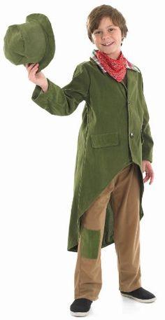 Dickensian Victorian Boy Fancy Dress Costume 8 - 10 years: Fun Shack: Amazon.co.uk: Toys & Games