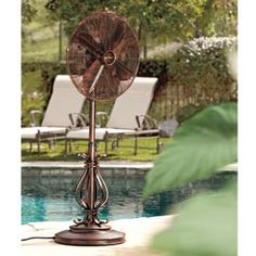Outdoor Patio Floor Fans Solution