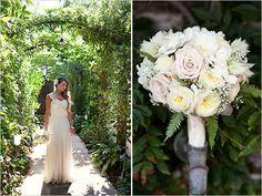Cream wedding bouquet by Fantasy Floral Designs