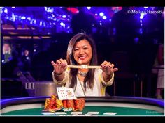 Champion Haixia Zhang (@hz46)  (‪#‎1rst‬ place (of 793 ppl.)) for $153,470 and gold bracelet. World Series of Poker (@WSOP) 2014 (Ladies) Event #53  (www.pokernews.com/live-reporting/2014-wsop/event-53)