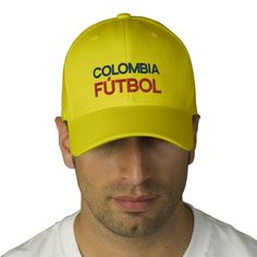 COLOMBIA FUTBOL EMBROIDERED HAT