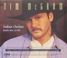 Tim McGraw   ~  Indian Outlaw