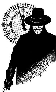 KidSTUFF: V for Vendetta V Comme Vendetta, V Pour Vendetta, Guy Fawkes, V For Vendetta Tattoo, Funny Comics, Dc Comics, Vintage Wallpaper, Hacker Wallpaper, Image Hd