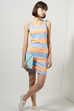 f0a4cc6145eb0  LacosteLive Sleeveless Bold Stripe Tank  Dress for  her  womenswear Lacoste  Clothing