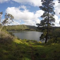 Beautiful morning walking around #bluelakes at #mtgambier by robmorley1993