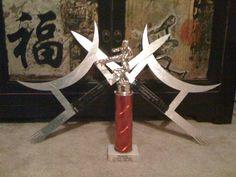 Wu Tze Kun (Pa Kua dagger or Sun Moon Fork)