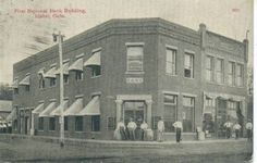 Throwback Picture Of First National Bank