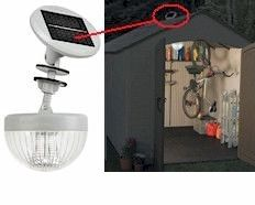 Solar Light System for the Shed  sc 1 st  Pinterest & Have to have it for run in sheds without electricity- Gama Sonic ... azcodes.com